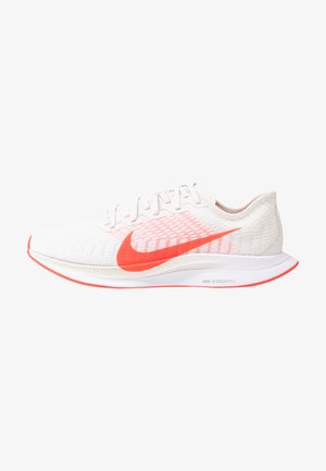ZOOM PEGASUS TURBO 2 - Neutral running shoes - platinum tint/laser crimson/white/light smoke grey