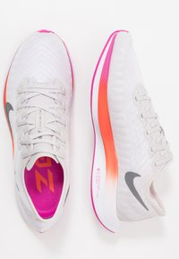 Nike Performance - ZOOM PEGASUS TURBO 2 - Obuwie do biegania treningowe - vast grey/smoke grey/white/fire pink/team orange/magic ember - 1