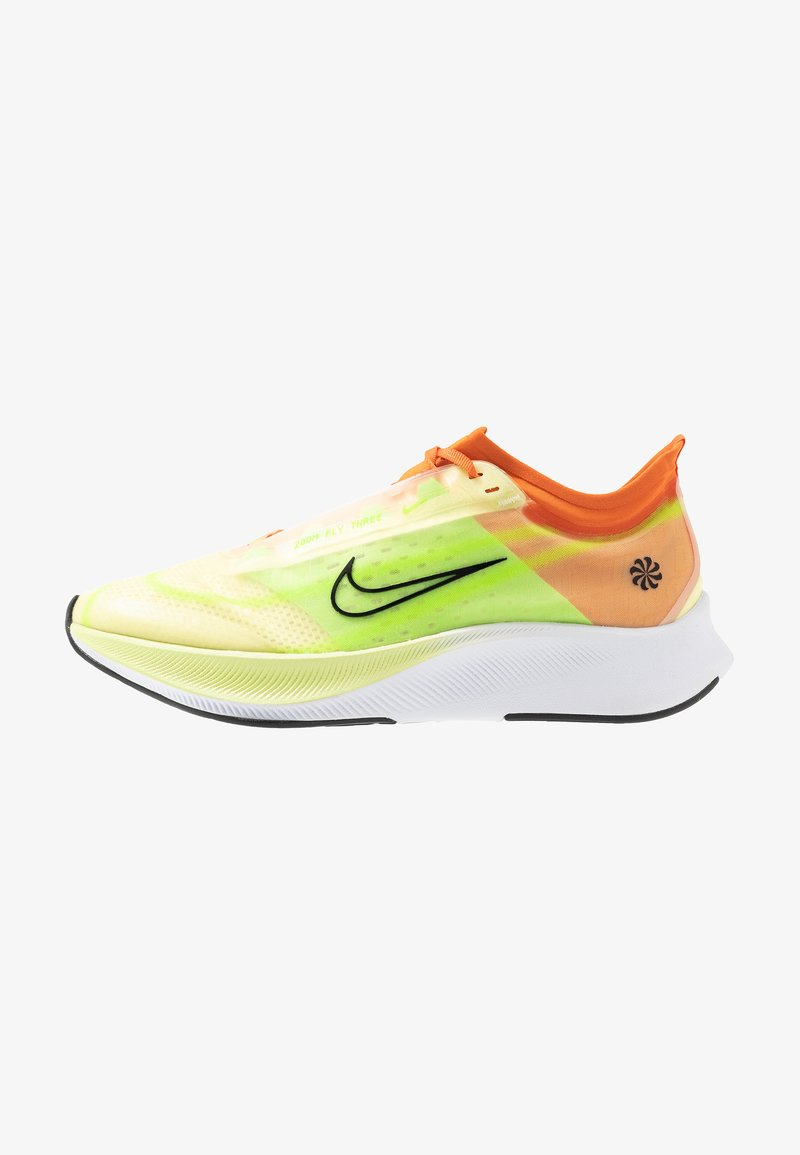 Nike Performance - ZOOM FLY 3 - Juoksukenkä/neutraalit - luminous green/black/starfish/electric green/white