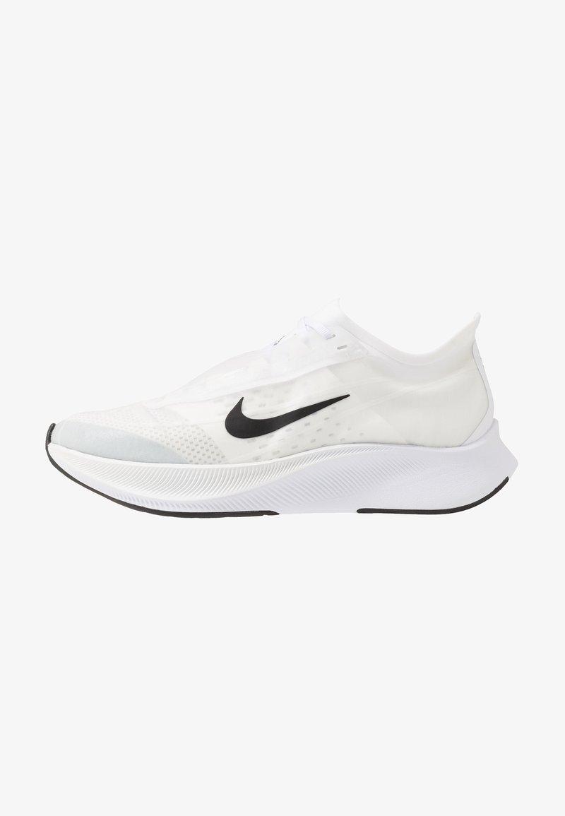 Nike Performance - ZOOM FLY 3 - Obuwie do biegania treningowe - white/black/atmosphere grey