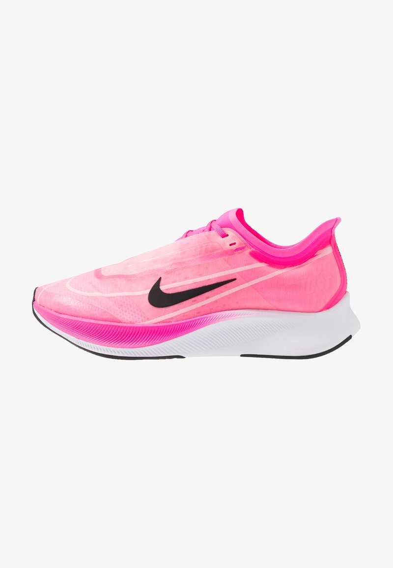 Nike Performance - ZOOM FLY 3 - Neutrala löparskor - pink blast/true berry/atmosphere grey/white