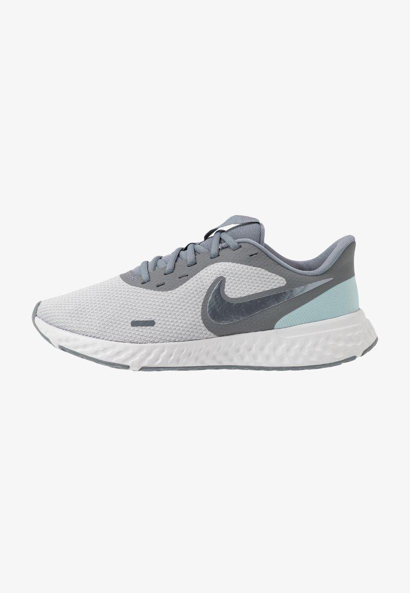Nike Performance - REVOLUTION 5 - Obuwie do biegania treningowe - wolf grey/metallic cool grey/cool grey