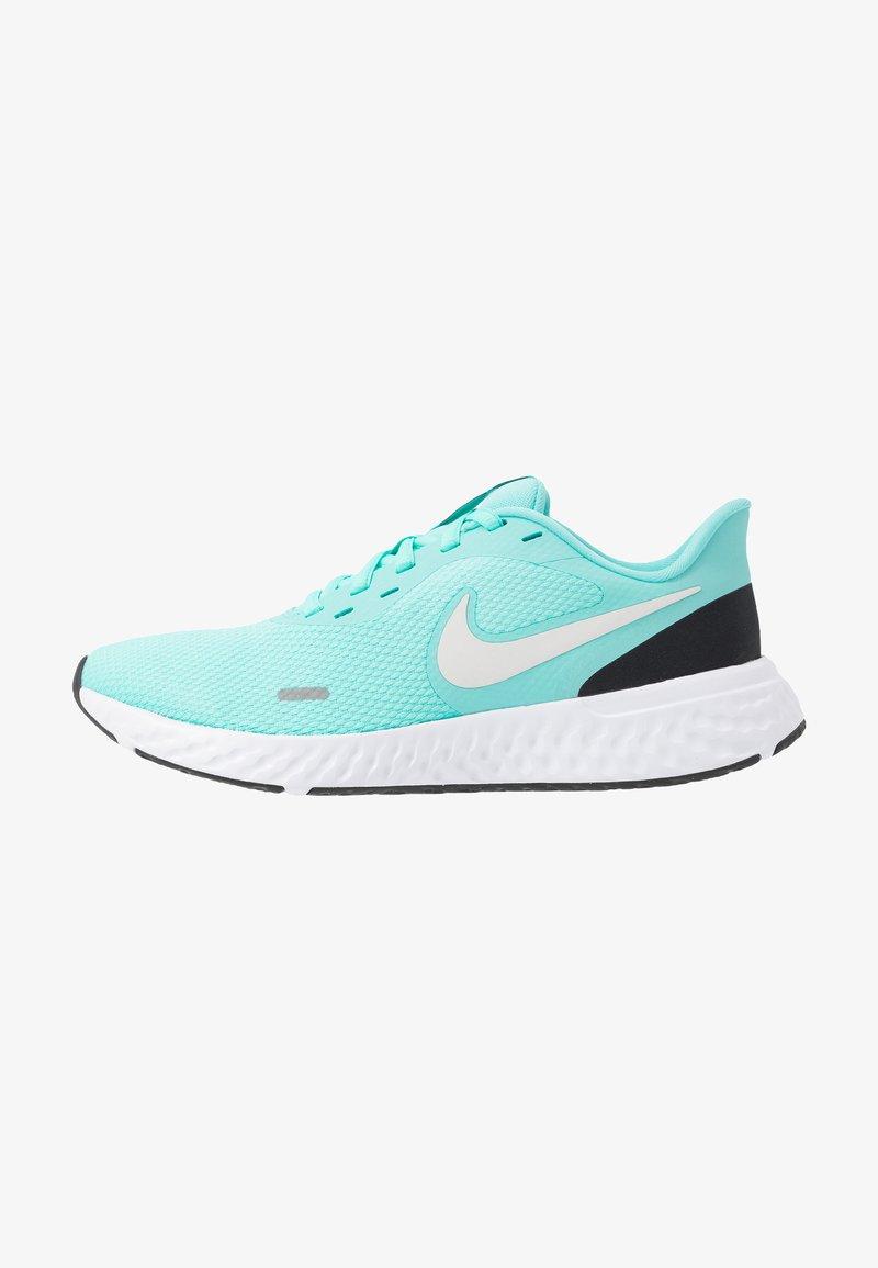 Nike Performance - REVOLUTION 5 - Obuwie do biegania treningowe - aurora green/platinum tint/black