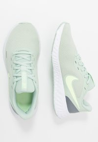 Nike Performance - REVOLUTION 5 - Zapatillas de running neutras - pistachio frost/barely volt/smoke grey - 1