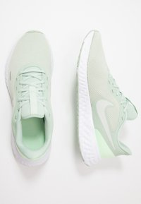 Nike Performance - REVOLUTION 5 - Neutral running shoes - pistachio frost/barely volt/smoke grey - 1