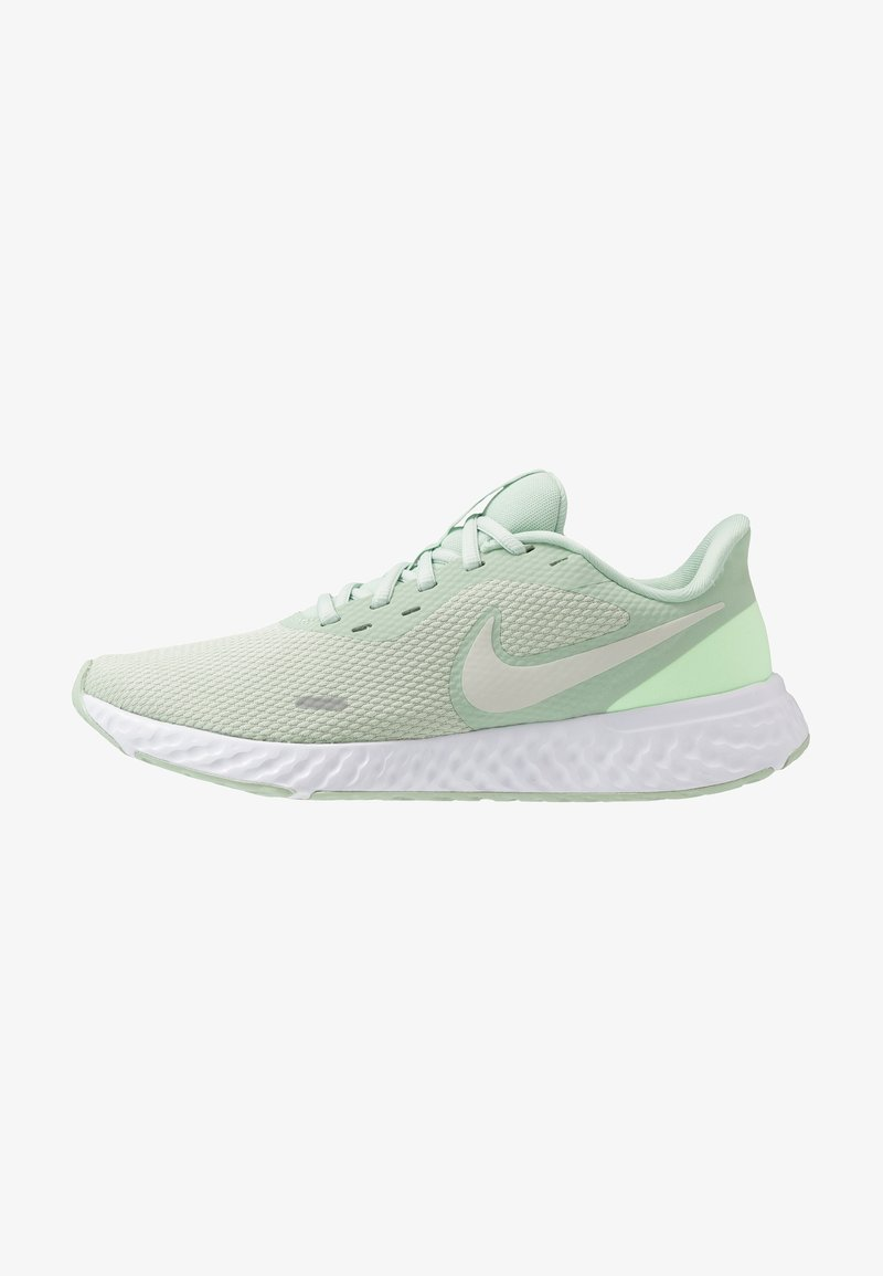 Nike Performance - REVOLUTION 5 - Neutral running shoes - pistachio frost/barely volt/smoke grey