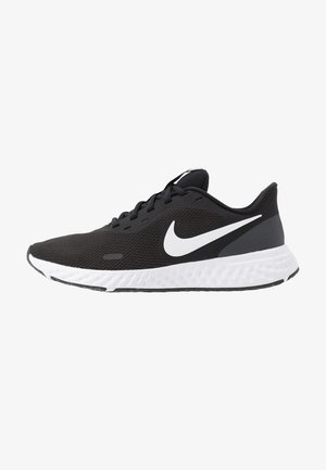 REVOLUTION  - Minimalist running shoes - black/white/anthracite