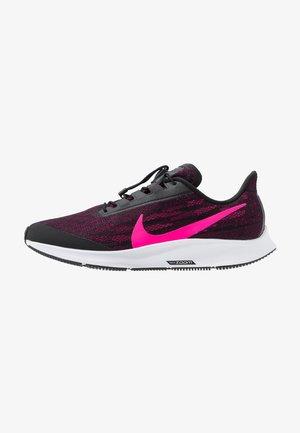 AIR ZOOM PEGASUS 36 FLYEASE - Obuwie do biegania treningowe - black/pink blast/true berry/white
