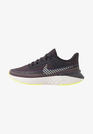LEGEND REACT SHIELD - Chaussures de running neutres - oil grey/reflect silver/thunder grey