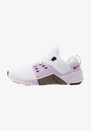 FREE METCON 2 - Minimalist running shoes - white/noble red/iced lilac/black/pistachio frost