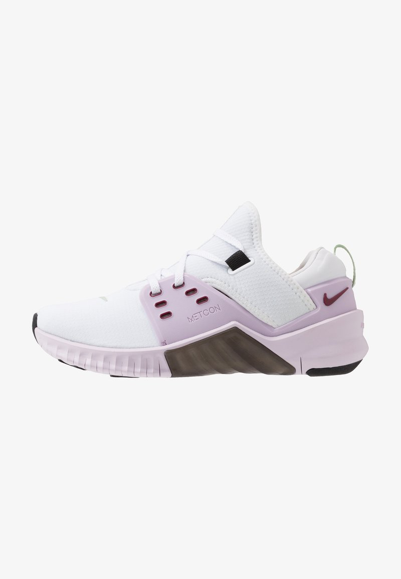 Nike Performance - FREE METCON 2 - Minimalist running shoes - white/noble red/iced lilac/black/pistachio frost