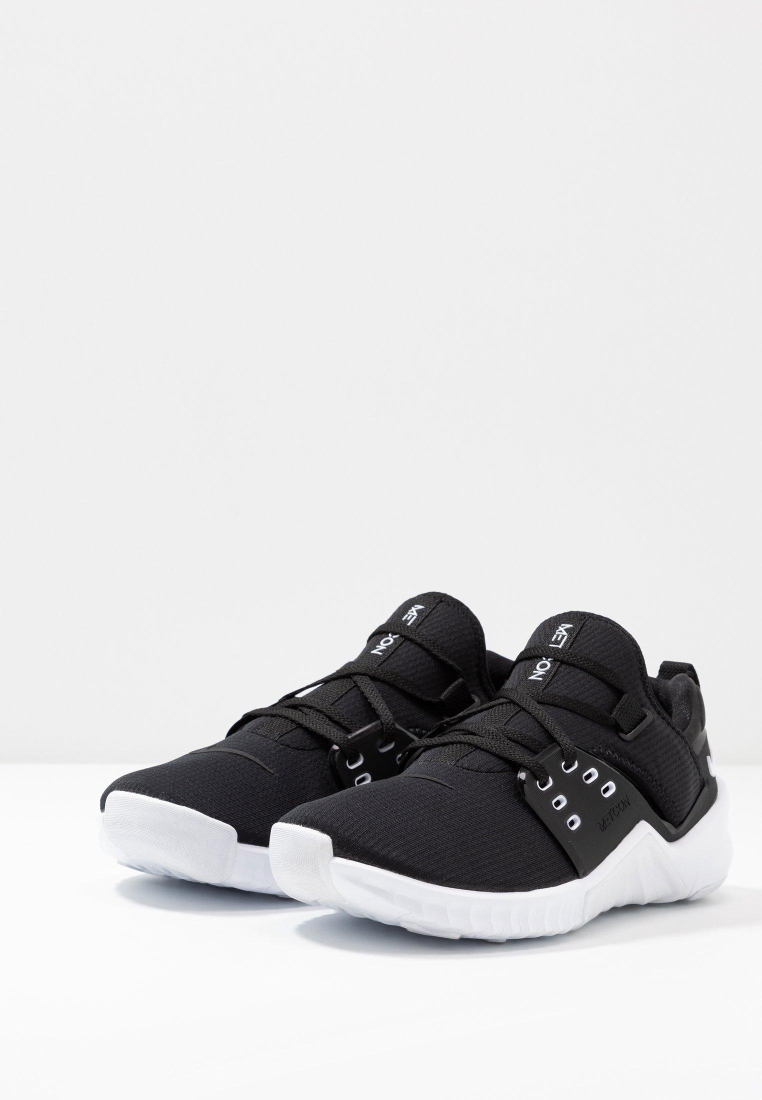 Nike Performance FREE METCON 2 - Minimalist running shoes - black/white