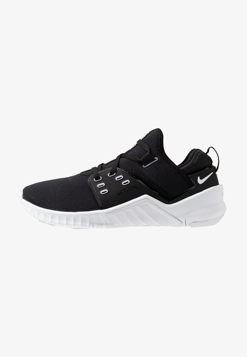 Nike Performance - FREE METCON 2 - Minimalist running shoes - black/white