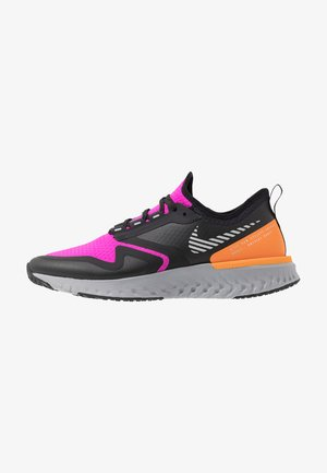 ODYSSEY REACT  SHIELD - Neutrale løbesko - fire pink/metallic silver/black