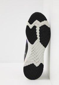 Nike Performance - ODYSSEY REACT  SHIELD - Neutral running shoes - black/metallic silver/voltage purple - 4