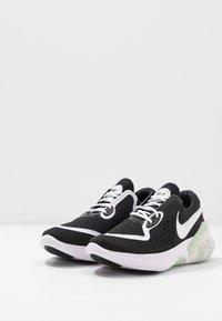 Nike Performance - JOYRIDE DUAL  - Obuwie do biegania treningowe - black/white/light violet/pistachio frost/iced lilac/noble red - 2
