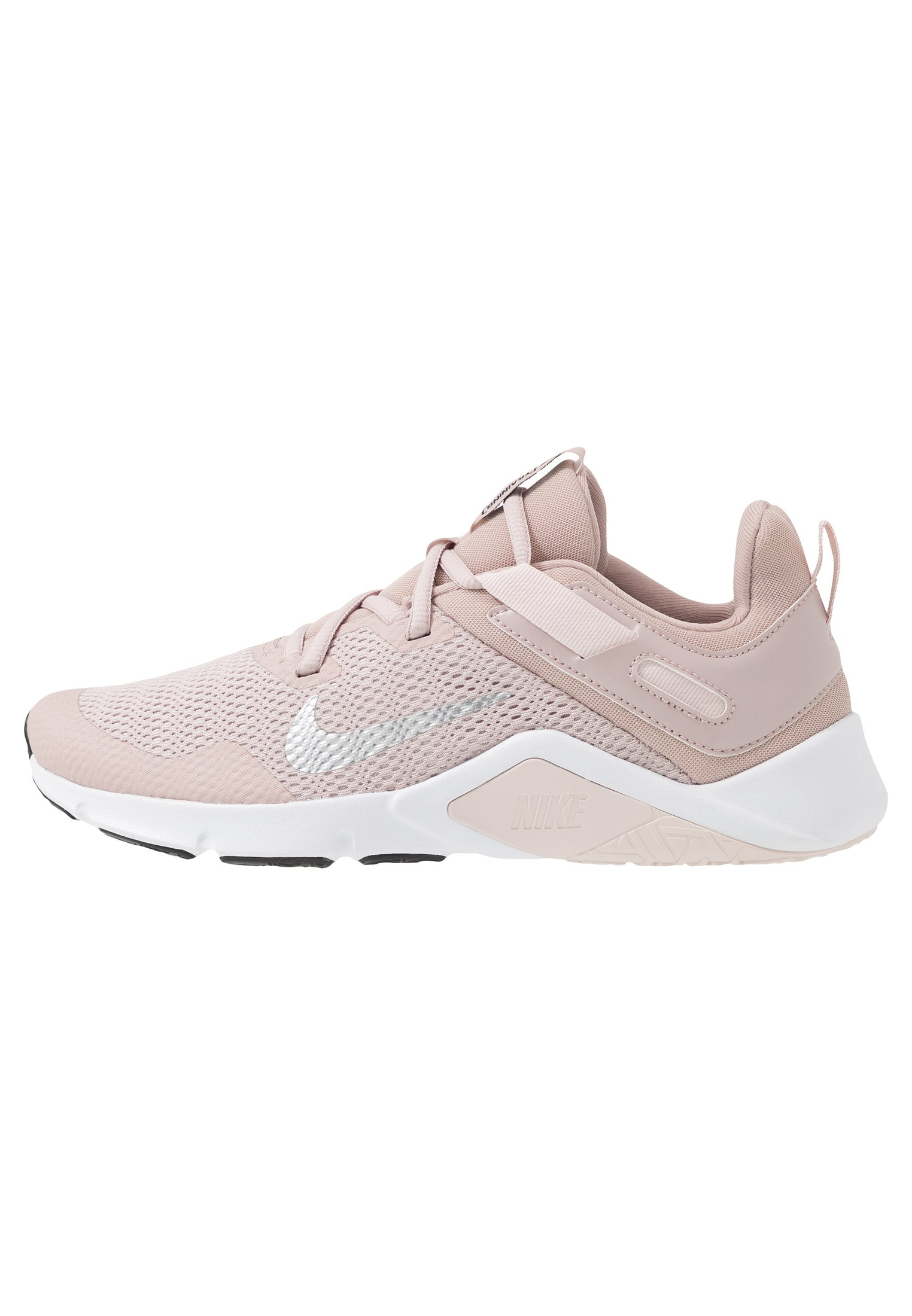 Nike Performance LEGEND ESSENTIAL - Obuwie treningowe - stone mauve/white/barely rose