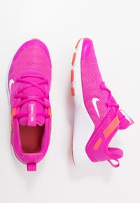 Nike Performance - LEGEND ESSENTIAL - Sports shoes - fire pink/summit white/magic ember/white - 1