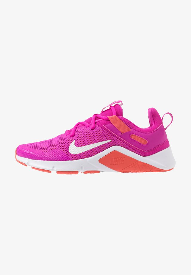 LEGEND ESSENTIAL - Zapatillas de entrenamiento - fire pink/summit white/magic ember/white