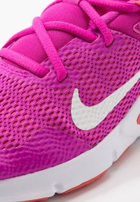 Nike Performance - LEGEND ESSENTIAL - Sports shoes - fire pink/summit white/magic ember/white - 5