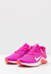 Nike Performance - LEGEND ESSENTIAL - Sports shoes - fire pink/summit white/magic ember/white - 2