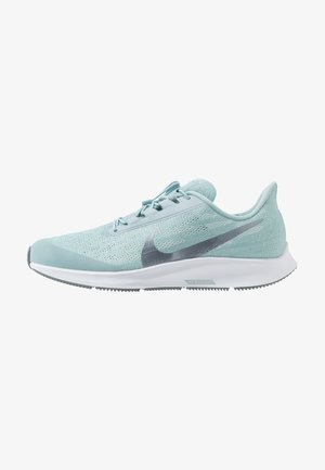 AIR ZM PEGASUS 36 FLYEASE WD - Neutral running shoes - ocean cube/metallic cool grey/pure platinum