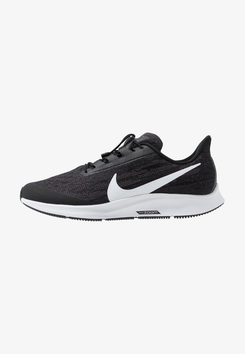 Nike Performance - AIR ZM PEGASUS 36 FLYEASE WD - Zapatillas de running neutras - black/white/thunder grey