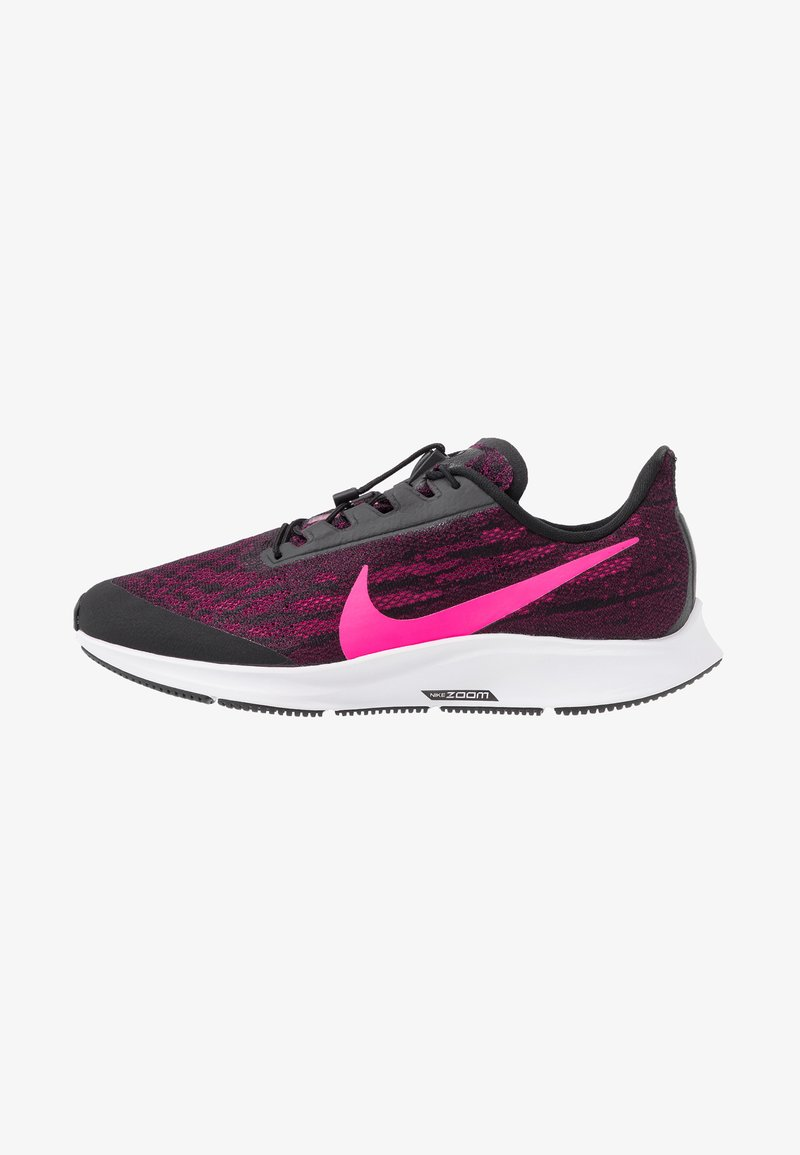 Nike Performance - AIR ZM PEGASUS 36 FLYEASE WD - Obuwie do biegania treningowe - black/pink blast/true berry/white
