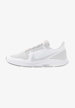 AIR ZOOM PEGASUS 36 SHIELD - Zapatillas de running neutras - white/photon dust/laser crimson