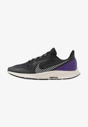 AIR ZOOM PEGASUS 36 SHIELD - Neutrale løbesko - black/silver/desert sand/voltage purple