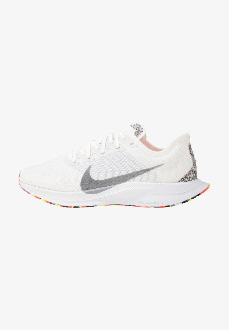 Nike Performance - ZOOM PEGASUS TURBO 2 - Obuwie do biegania treningowe - summit white/wolf grey/white/lava glow