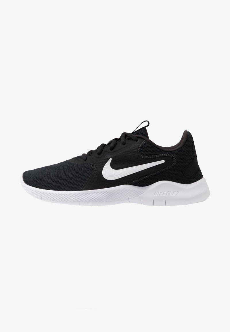 Nike Performance - FLEX EXPERIENCE RN  - Löparskor för tävling - black/white/dark smoke grey