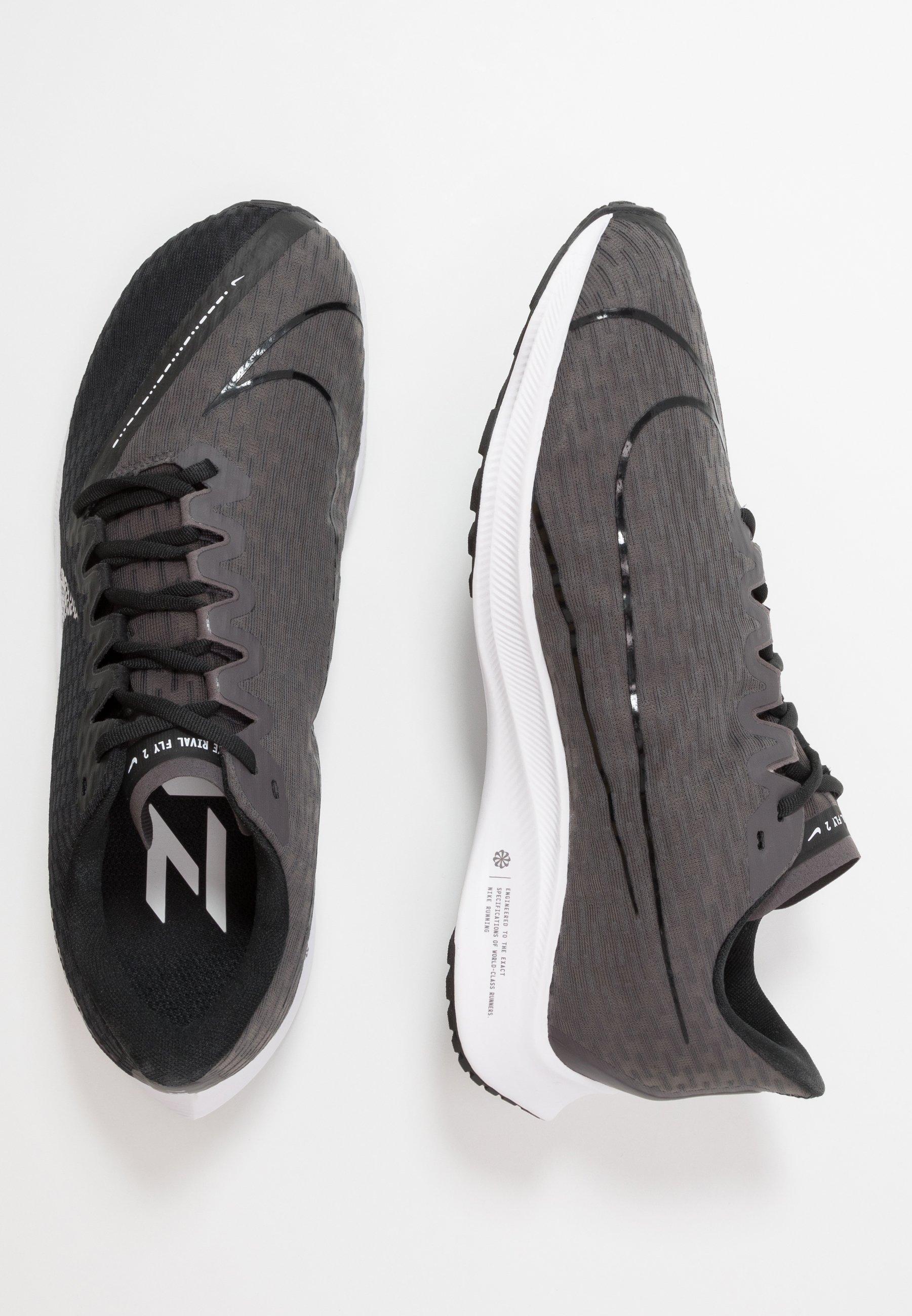 Nike Performance ZOOM RIVAL FLY 2 - Neutrale løbesko - black/white/thunder grey