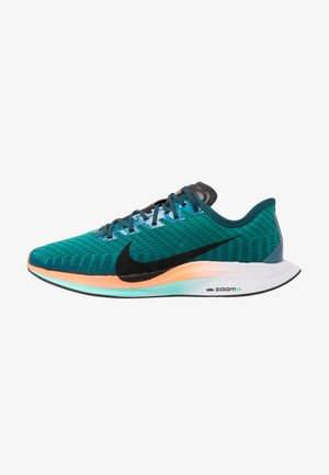 ZOOM PEGASUS TURBO 2 HKNE - Obuwie do biegania treningowe - neptune green/black/midnight turquoise/hyper crimson/white