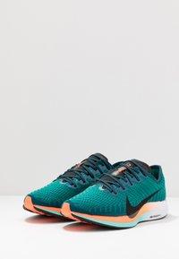Nike Performance - ZOOM PEGASUS TURBO 2 HKNE - Zapatillas de running neutras - neptune green/black/midnight turquoise/hyper crimson/white - 2