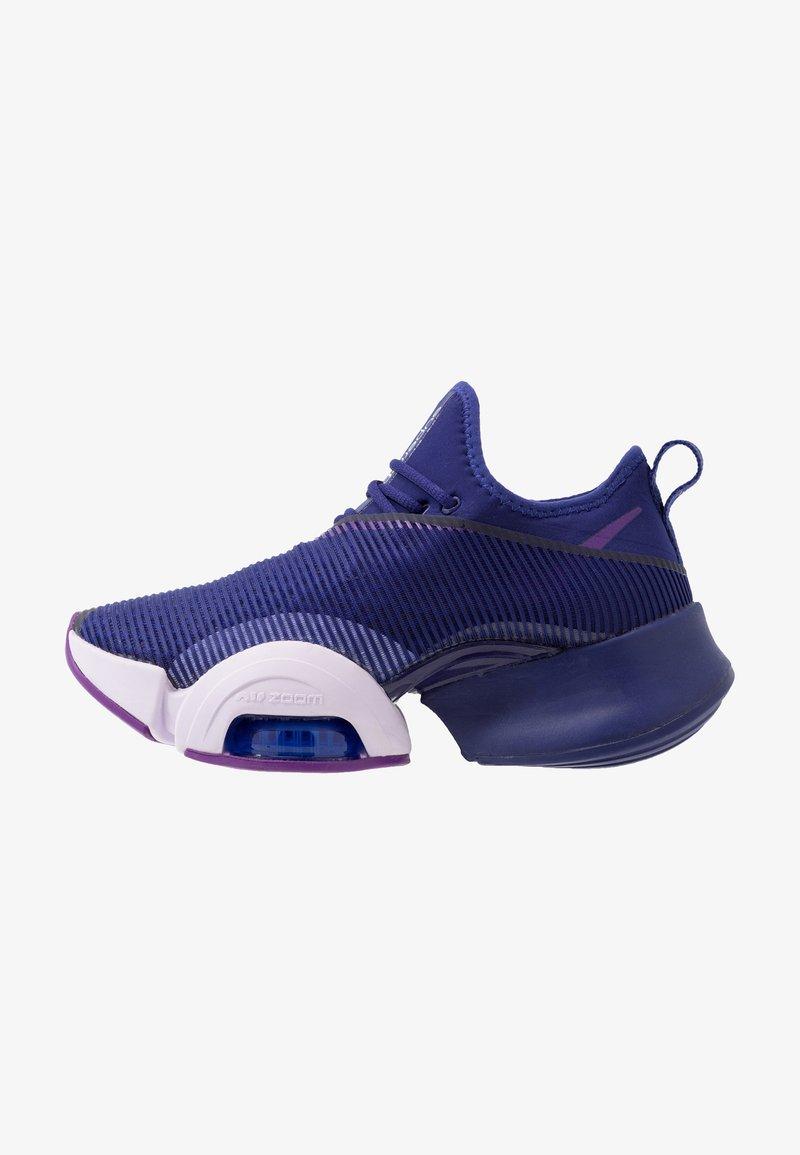 Nike Performance - AIR ZOOM SUPERREP - Sports shoes - regency purple/barely grape/black/voltage purple/persian violet