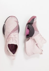 Nike Performance - AIR ZOOM SUPERREP - Sports shoes - barely rose/burgundy ash/shadowberry/cosmic fuchsia - 1