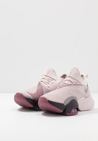 Nike Performance - AIR ZOOM SUPERREP - Sports shoes - barely rose/burgundy ash/shadowberry/cosmic fuchsia - 2
