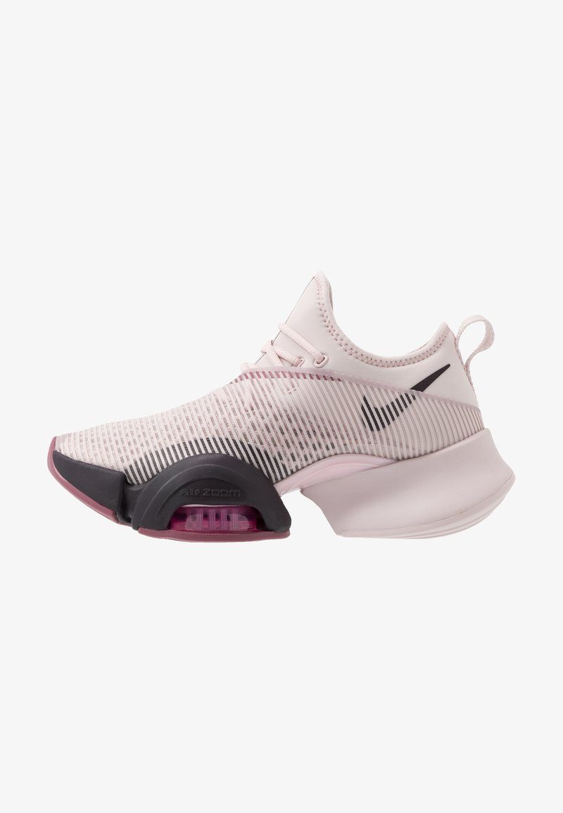 Nike Performance - AIR ZOOM SUPERREP - Sports shoes - barely rose/burgundy ash/shadowberry/cosmic fuchsia