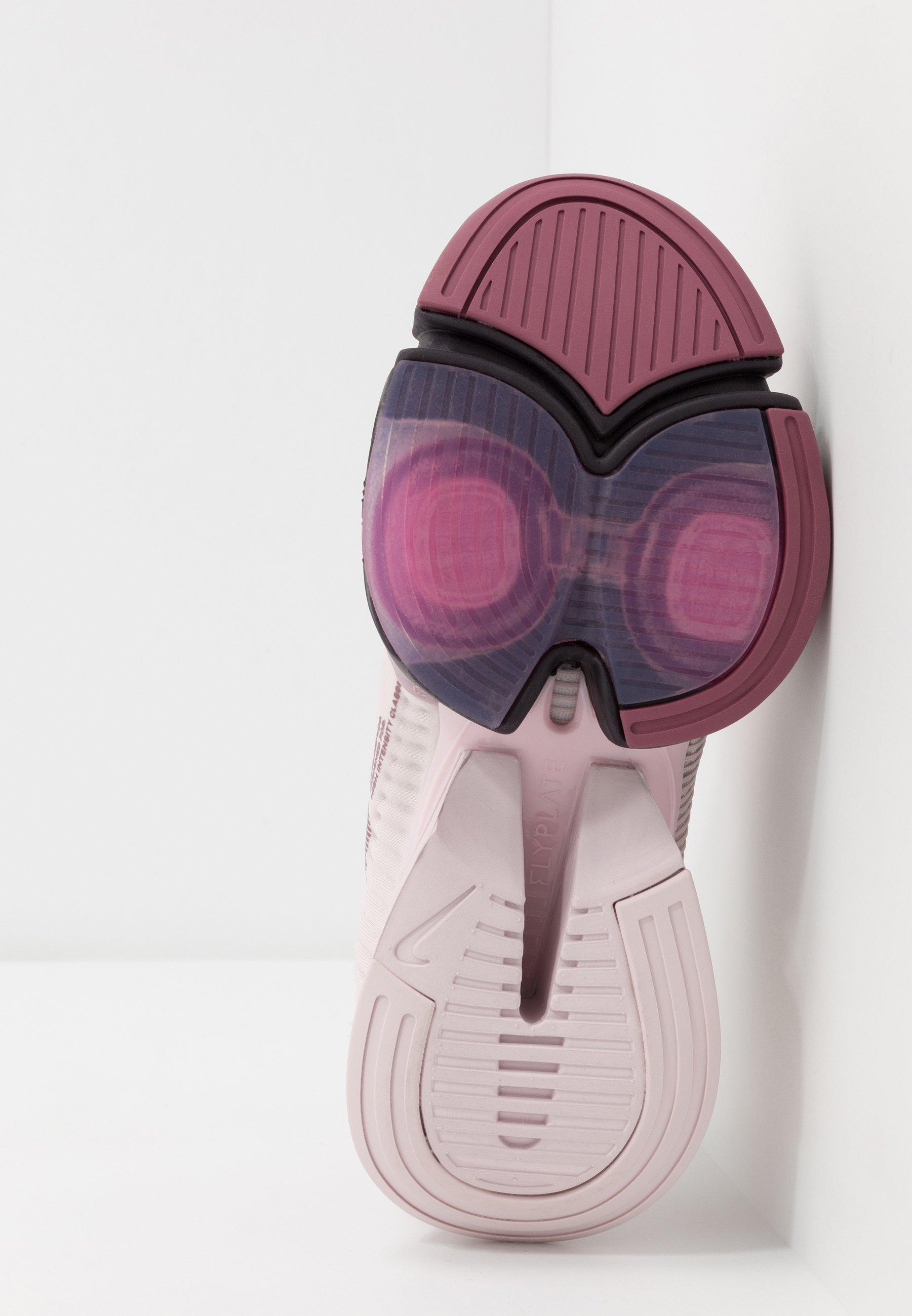 AIR ZOOM SUPERREP Chaussures d'entraînement et de fitness barely roseburgundy ashshadowberrycosmic fuchsia