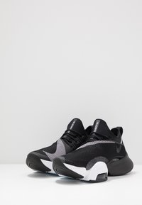 Nike Performance - AIR ZOOM SUPERREP - Sports shoes - black/white/anthracite - 2