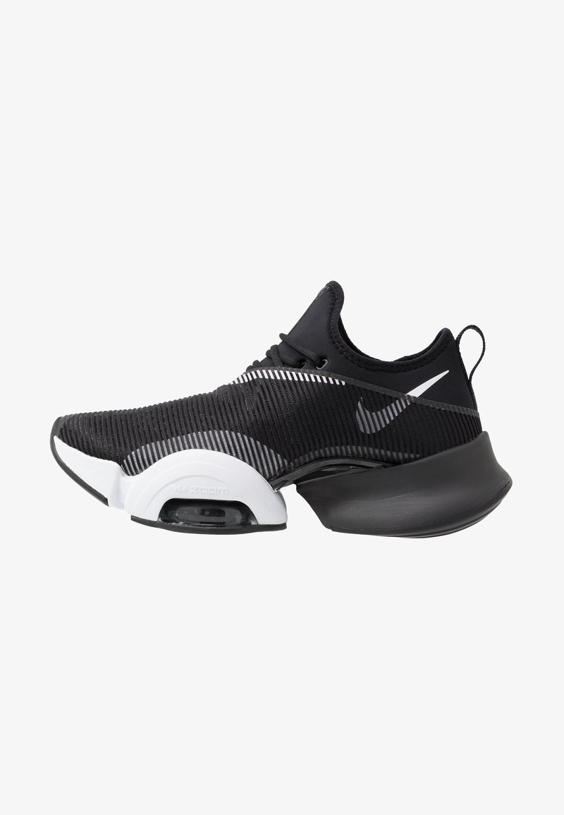 Nike Performance - AIR ZOOM SUPERREP - Sports shoes - black/white/anthracite