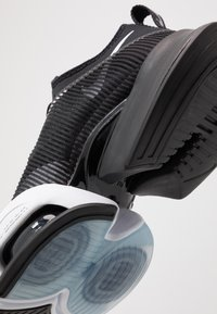 Nike Performance - AIR ZOOM SUPERREP - Sports shoes - black/white/anthracite - 5