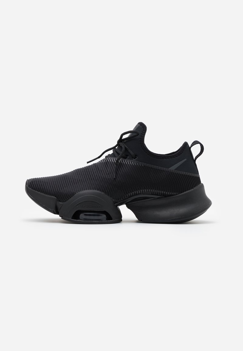 Nike Performance - AIR ZOOM SUPERREP - Sports shoes - black/anthracite-black