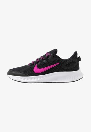 RUNALLDAY 2 - Zapatillas de running neutras - black/pure platinum/fire pink