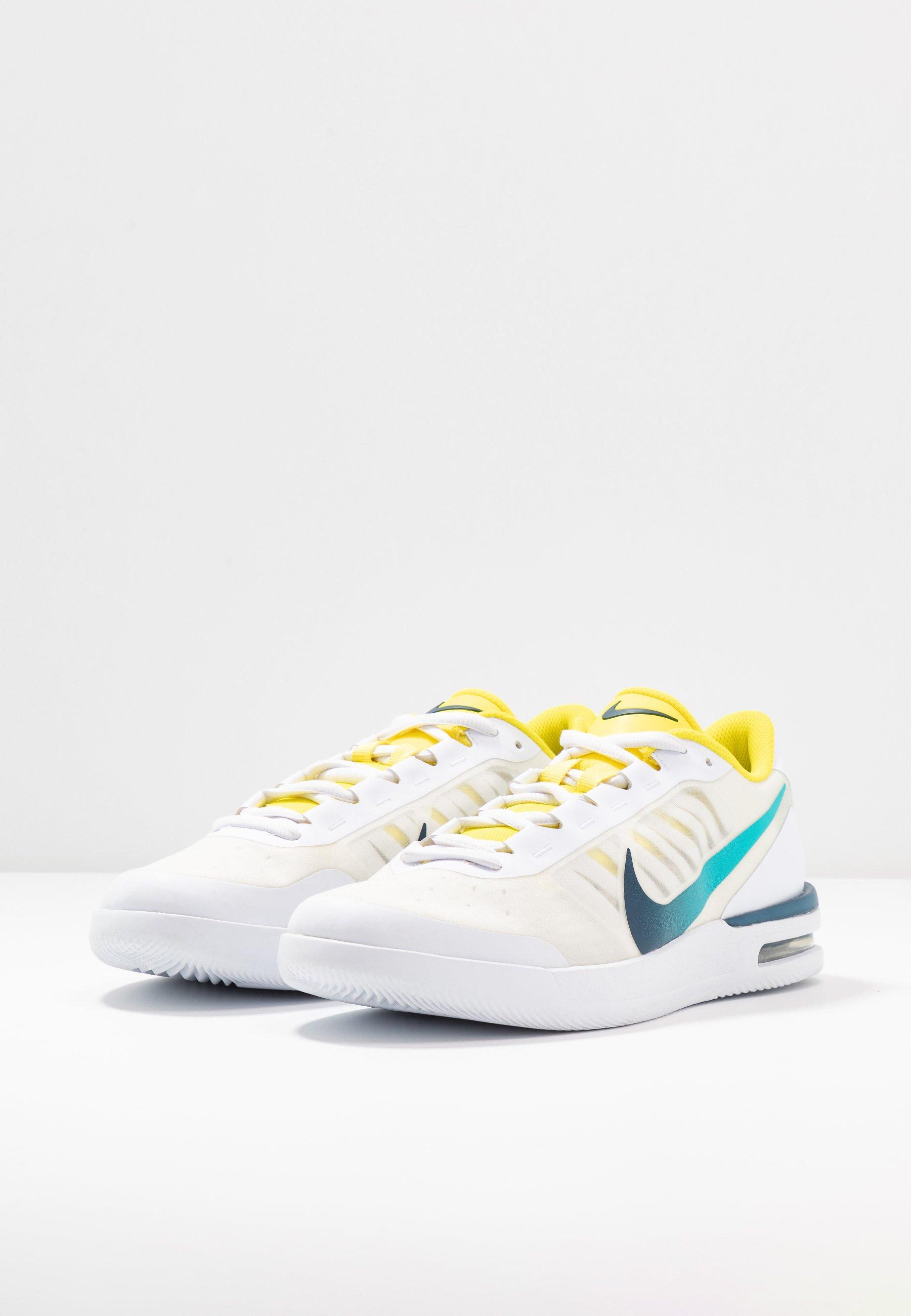 COURT AIR MAX VAPOR WING Chaussures de tennis toutes surfaces whitevalerian blueoracle aqua