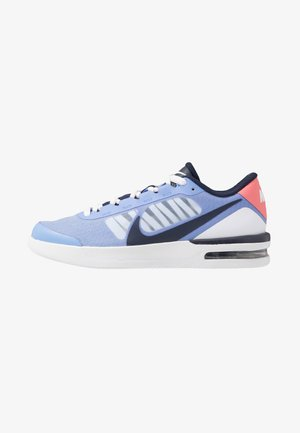 COURT AIR MAX VAPOR WING - Multicourt tennis shoes - royal pulse/obsidian white/sunblush