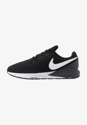 AIR ZOOM STRUCTURE 22 - Zapatillas de running estables - black/white/gridiron