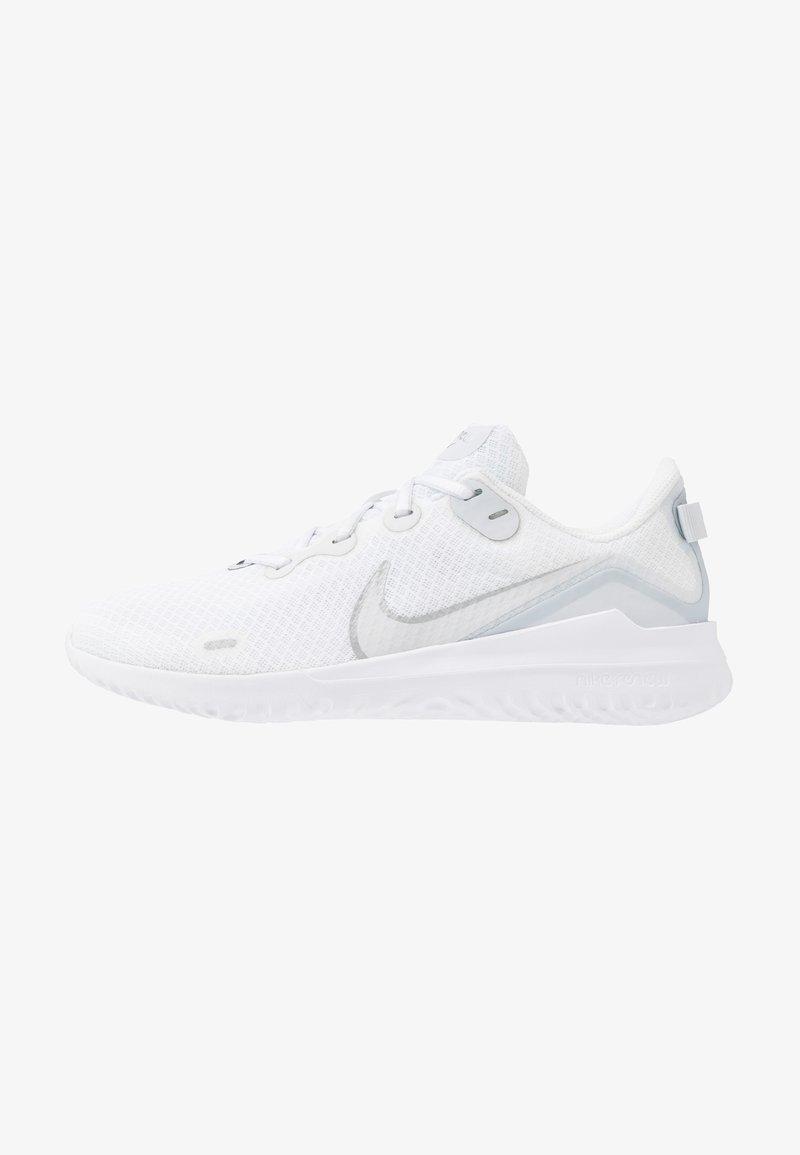 Nike Performance - RENEW RIDE  - Obuwie do biegania treningowe - white/metallic silver/pure platinum