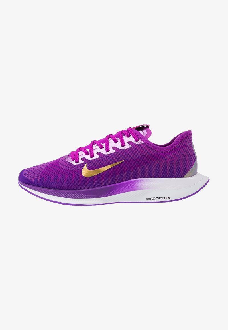 Nike Performance - ZOOM PEGASUS TURBO 2 SE - Zapatillas de running neutras - vivid purple/voltage purple/saffron quartz/black/metallic gold coin